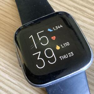 Fitbit Versa 2 Fitness Activity Tracker, One Size - Black