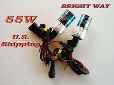 55W HID Xenon Bulbs H1 H3 H7 H10 H11  9006 9009 880 4300K to 10000K USA SELL