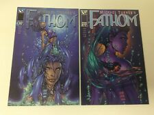 FATHOM #1-2 (ASPEN/1998/VOL1/MICHEAL TURNER/061878) COMPLETE SET LOT OF 2
