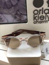 Orla Kiely Maudie Brown Marble Sunglasses  Hard Shell Case +Gift Bag BN