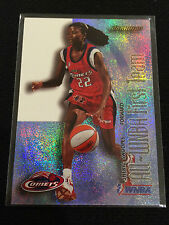 WNBA SHERYL SWOOPS 2000 FLEER INSERT 1 OF 10 COMETS BASKETBALL CARD