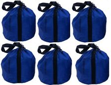 Economy Sand Bag Anchor Bags (with handles) - for Dog Agility Tunnels 6 Bag Set