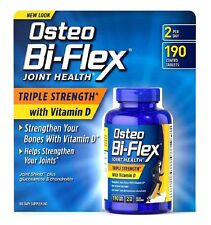 Osteo Bi-Flex Triple Strength W Vitamin D 190 Ct Maintain Flexibility & Agility