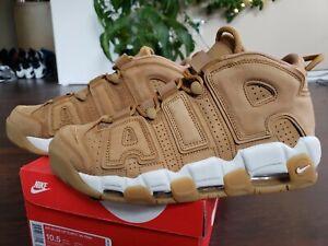 "Nike Air More Uptempo ""Wheat"" Sz 10.5,  retro,  dunk, kaws, supreme, dunk, jorda"