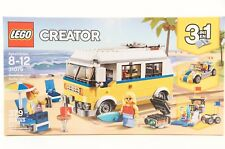 Lego, CREATOR, 31079, Sunshine Surfer Van, 3 in 1, 379 PCS, Ages 8 and Up