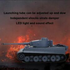 Upgrade Heng Long 3818-1 6.0 1:16 2.4G German Tiger I RC Tank Model Toy Gift ❤.