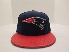 MITCHELL & NESS NFL NEW ENGLAND PATRIOTS PERF POP STRAPBACK CAP HAT