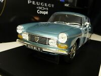 1:18 NOREV Peugeot 404 Coupe Blau blue metallic NEU NEW