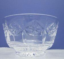 STUART Crystal Cut Glass sugar bowl firmato.
