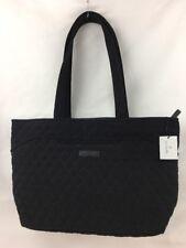 Vera Bradley Mandy Classic Black Quilted Handbag/Tote NWT Ships Free