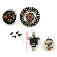 Upgrade Metal Gearbox Differential Gear Part for WLtoys 144001 1/14 Model RC Car