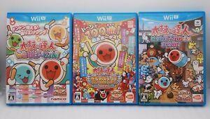 Wii U Taiko no Tatsujin WiiU Ver Atsumete Tomodachi, Tokumori 3Games Set Japan