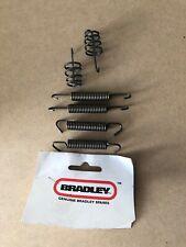 Bradley Replacement Brake Shoe Spring Kit For Knott 203 x 40mm Shoes Trailer