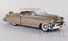wonderful modelcar CADILLAC CONVERTIBLE 1953 - closed top - goldbeige -   1/43