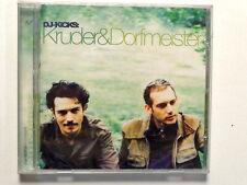DJ-KICKS:  KRUDER & DORFMEISTER  -  CD NUOVO E SIGILLATO
