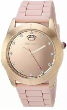 JUICY COUTURE Womans Connect Crystal Rose Gold Watch 1901546 New&sealed