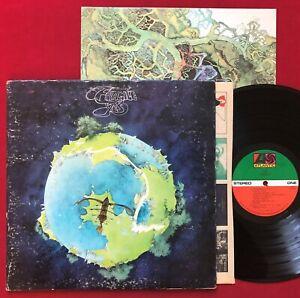 YES ~ FRAGILE LP + BOOKLET (1972) ORIG 1ST PRESS ~ ATLANTIC SD 7211 PR STEREO