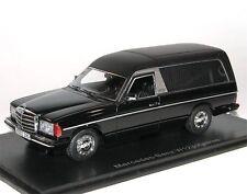 Neo 45280, Mercedes-Benz W123 Pollmann Hearse, Leichenwagen, Bestatter 1/43