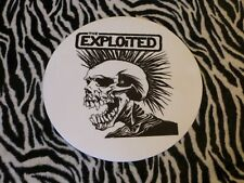 THE EXPLOITED  TURNTABLE (RECORD PLAYER) SLIPMAT.