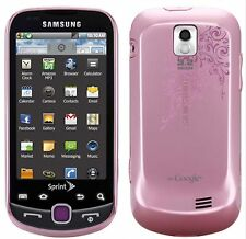 NEW Samsung SPH-M910 INTERCEPT Sprint Android Smart Phone PINK Wireless cell