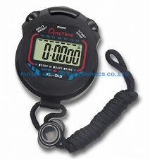 chronomètre sport montre alarme date minuterie multifonction professionnel noir