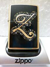 Zippo Feuerzeug Z Sparkle Brass high polished mit persönlicher Gravur
