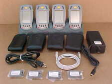 SYMBOL SPT1800-TRG80400 LOT OF 4 FULLY RECONDITIONED WITH QUAD CRADLE
