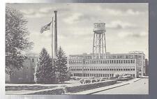 Minute Tapioca Factory Orange Massachusetts Black&White Linen Postcard New!