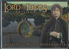 El Señor de los Anillos Trilogía Cromado Recuerdos Carta Frodo's Túnica