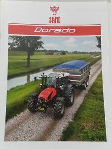 SAME Dorado Traktoren Prospekt von 02/2020 ( Auktion 98 )