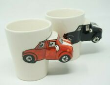 Classic Cars car Mug Embossed Ceramic 3D Chevy Ford Thailand Vintage