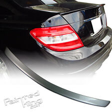 Stock in LA!Painted For Mercedes BENZ W204 C-class A Boot Trunk Spoiler #744 4DR