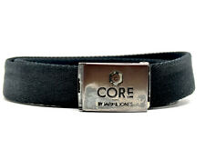Jack and Jones Core Mens Fabric Webbing Belt Black One Size