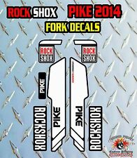 Rock SHOX PIKE 2014 FORK Adesivi Decalcomanie Grafiche mountain bike Down Hill MTB