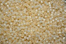Matsuno Seed Beads 11/0 - Gilt-Lined Gold Opal