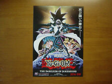 Yu-Gi-Oh THE DARK SIDE OF DIMENSIONS MOVIE FLYER Mini Poster Japanese 27-12