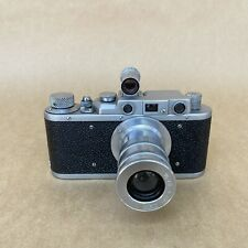 FED 1d #169065 Vintage Rangefinder Film Camera W/ 100mm 1:6.3 & Finder - NICE
