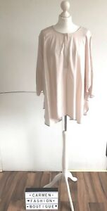 AUTHENTIC COS PALE PINK LOOSE FITTING OVERSIZE SHIRT TOP EU 36 UK 10 US 6!