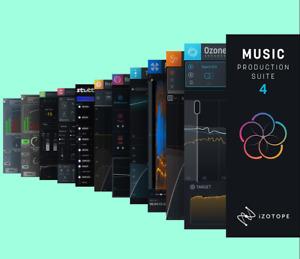 iZotope Music Production Suite 4 Full incl. Ozone9Adv Neutron3Adv Nectar3+ RX8
