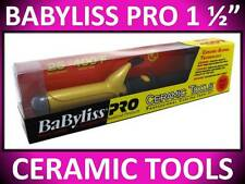"BABYLISS PRO 1 1/2"" CERAMIC TOOLS 400° SPRING CURLING IRON DUAL VOLTAGE CT155S"