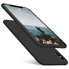 For iPhone X S Max XR Shockproof Ultra Slim Luxury Soft TPU Cover Skin Thin Case