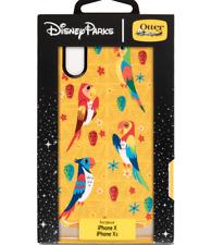 New Disney Park OTTERBOX ✿ iPhone 10 X XS Case Enchanted Tiki Room Birds Fantasy