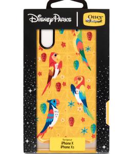 OTTERBOX 10 X XS iPhone New Disney Park ✿ Case Enchanted Tiki Room Birds Fantasy