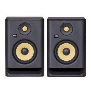 "2 x KRK Rokit 5 G4 Studio Monitor Pair 5 Inch 5"" Speakers - New - Australia Post"