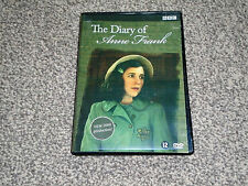 THE DIARY OF ANNE FRANK : RARE BBC TV DRAMA DVD IN VGC (FREE UK P&P)