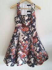 Knightsbridge Designer Boutique Nicole Coste Mix Di Seta Vestito. UK 12. prezzo consigliato £ 680