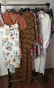 Womens Ladies Clothes Bundle Size 12 Midi Dress Skirt Blouse Shirt Top Tshirt N1