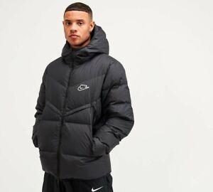 Nike Sportswear Down-Fill Windrunner Jacket Men's Size S Black