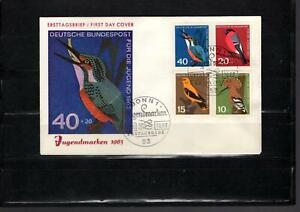 BRD  Bund   Ersttagsbrief  FDC  Jugendmarken  1963       Lot2468