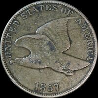 1857 Flying Eagle Cent, USA, Great Condition, Collectors Coin
